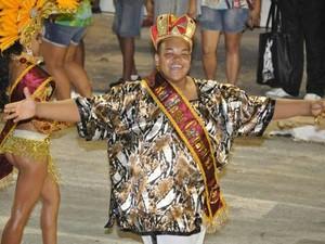 Luiz Fernando foi Rei Momo em Bauru (Foto: Luiz Fernando Ferreira de Lima/Arquivo Pessoal)