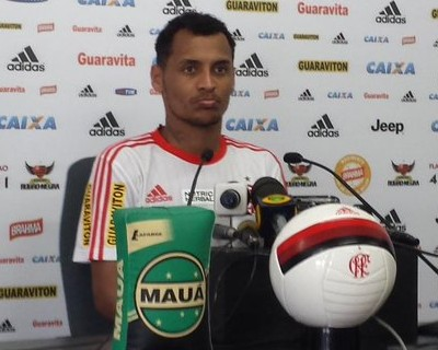 Alan Patrick entrevista Flamengo (Foto: Fred Gomes)