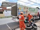 Prefeitura recolhe cerca de 450 pneus por dia em São Luís