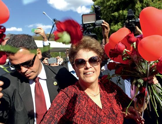 Dilma Rousseff deixa  Palácio da Alvorada após o impeachment (Foto: Adriano Machado / Reuters)