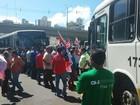 Rodoviários e Movimento de Luta nos Bairros fazem protestos em Natal