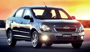 Chevrolet Cobalt 1.8 (Foto: General Motors)