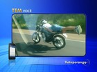 Motociclista é flagrado fazendo manobras arriscadas em rodovia
