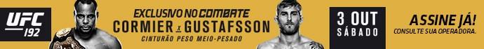 Banner UFC 192 (Foto: Editoria de arte)
