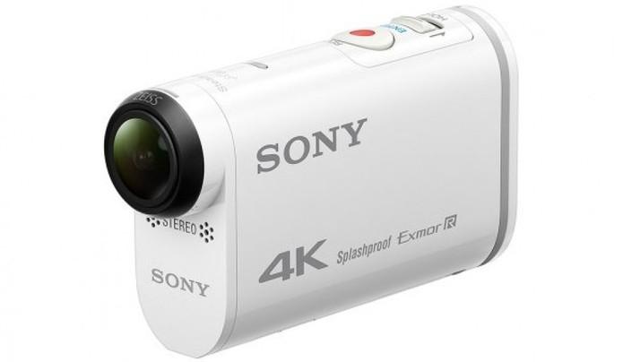 A Sony tem um um visor monocromático na lateral e quatro botões (Foto: Divulgação/Sony) (Foto: A Sony tem um um visor monocromático na lateral e quatro botões (Foto: Divulgação/Sony))