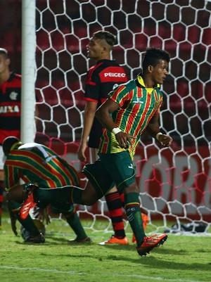 Alex Sandro é artilheiro do Sampaio na Copa São Paulo com três gols em dois jogos (Foto: Sampaio/Divulgação)