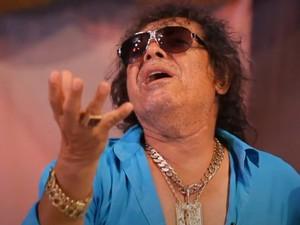 José Rico durante quadro 'Bem Sertanejo', do Fantástico, em outubro de 2014 (Foto: Reprodução/TV Globo)