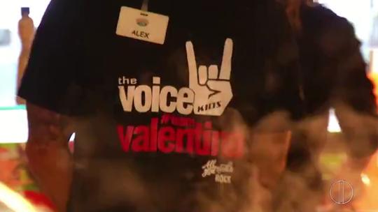 #TeamValentina: torcida petropolitana se prepara para final do 'The Voice Kids'