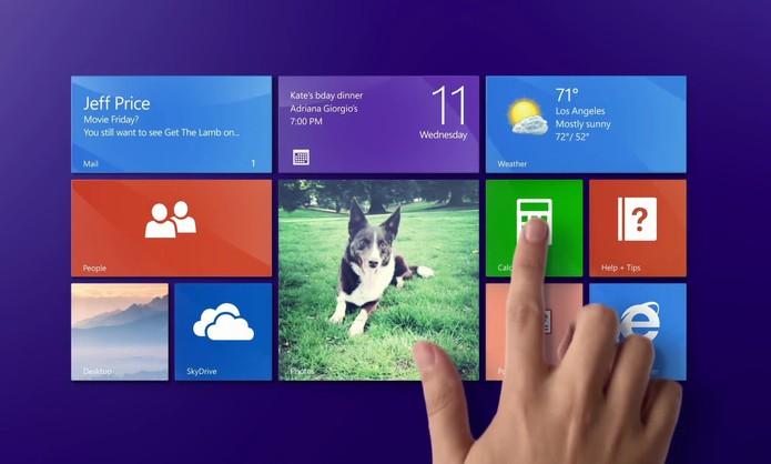 Tela Windows 8.1 (Foto: Divulgação/Microsoft)