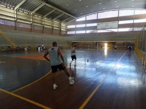 treino Central (Foto: Vital Florêncio / GloboEsporte.com)
