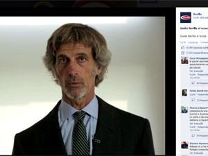 Presidente da barilla divulgou vídeo se desculpando pela declaração (Foto: Reprodução/Facebook)