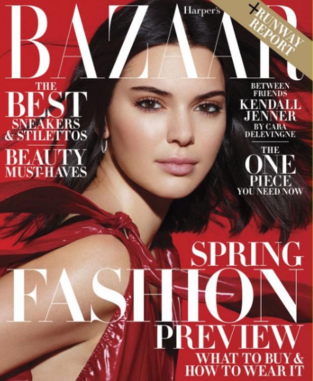 Kendall Jenner  (Foto: Harper's Bazaar/Reprodução)