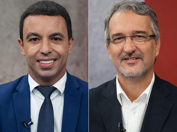 Rogério Lins (PTN) e Lapas (PDT) vão disputar o segundo turno das eleições para prefeito de Osasco (Foto: Marcelo Brandt/G1)