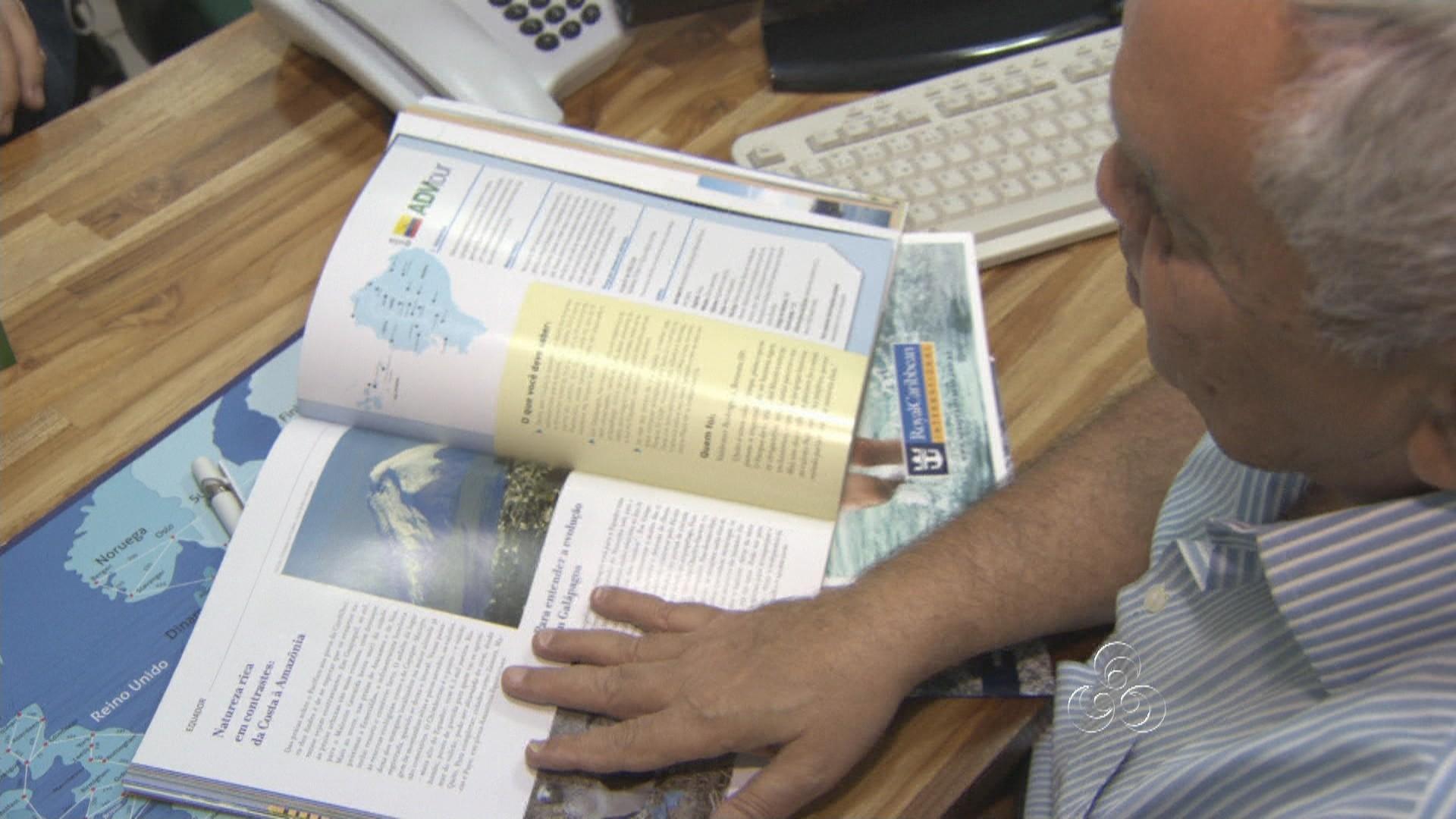 A procura por pacotes de viagens cresce no período de férias (Foto: Jornal do Amazonas)
