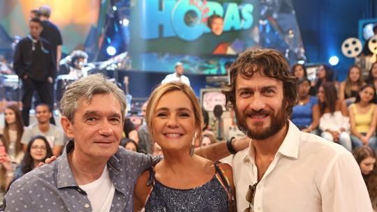Adriana Esteves e Gabriel Braga Nunes relembram seus vilões