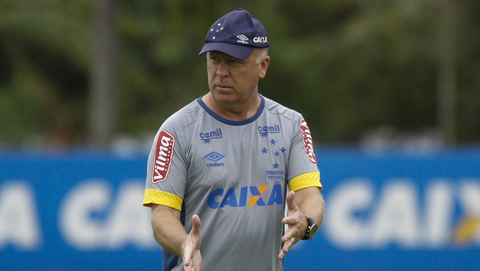Mano Menezes; Cruzeiro (Foto: Washington Alves/Light Press)