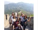 "Renato Augusto usa folga para visitar a Muralha da China: ""Obra da humanidade"""
