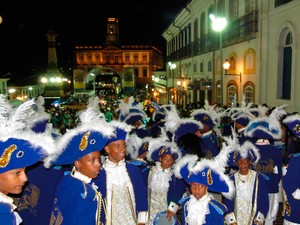 Concetração da Inconfidência Mineira que completa 40 anos em 2012 (Foto: Raquel Freitas/G1)