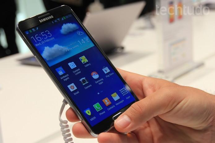 Sucessor do Galaxy Note 4 teve detalhes da câmera revelados (Foto: Isadora Díaz/TechTudo) (Foto: Sucessor do Galaxy Note 4 teve detalhes da câmera revelados (Foto: Isadora Díaz/TechTudo))