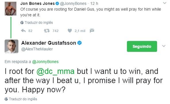 Jon Jones Twitter (Foto: Reprodução Internet)