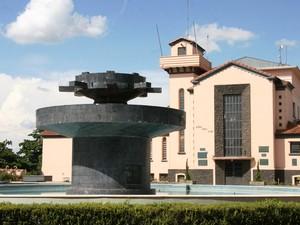 Praça do Daae, que será vendida à autarquia por R$ 50 milhões (Foto: Luís Fernando Laranjeira/Câmara)