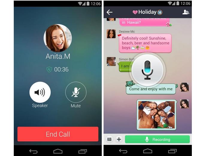 DiDi é um app para enviar mensagens e fazer ligações gratuitas (Foto: Divulgação)