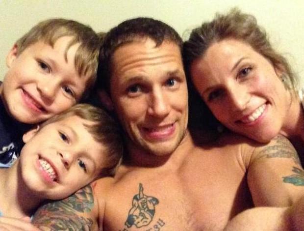 Jeff Curran e família MMA (Foto: Reprodução/ Twitter)