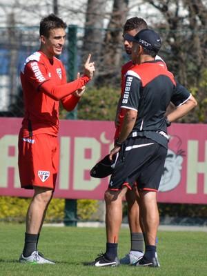 Osorio Lucão João Schmidt São Paulo (Foto: Site oficial do SPFC)