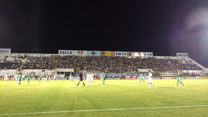 ABC x Luverdense Frasqueirão (Foto: Augusto Gomes/GloboEsporte.com)
