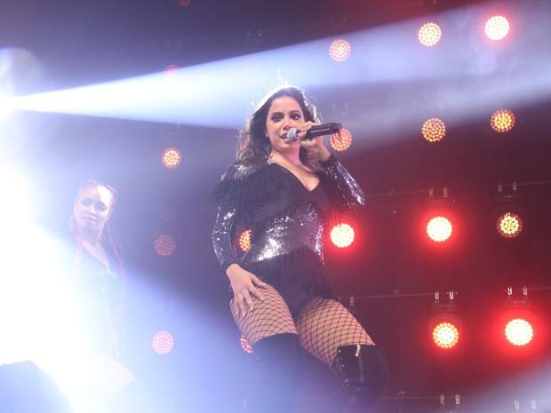 Anitta apresenta a turnê 'Bang' em casa de shows na Zona Oeste do Rio (Foto: Thyago Andrade/ Brazil News)