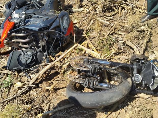 Motociclista morre em acidente na MG-179, entre Alfenas (MG) e Machado (MG). (Foto: Divulgação/Redes Sociais)