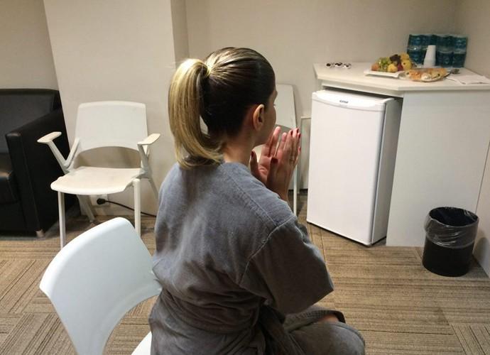 Mariana Santos tem duas orações para abençoar suas apresentações (Foto: Aline Nunes / Gshow)