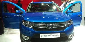 Novo Dacia Sandero (Foto: Priscila Dal Poggetto/G1)