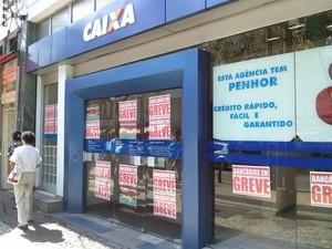 Caixa Econômica  (Foto: Fabiana Lima/Inter TV)