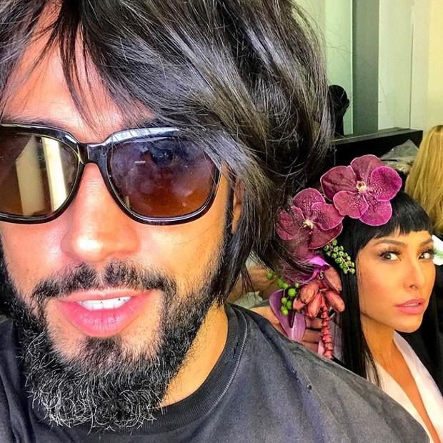 Yan Acioli e Sabrina Sato (Foto: Instagram/ Reprodução)