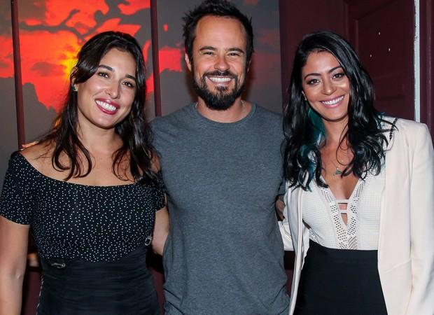 Giselle Itié, Paulo Vilhena e Carol Castro (Foto: Manuela Scarpa/Brazil News)