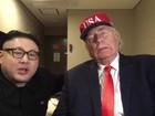 Sósia do ditador Kim Jong-un rouba a cena na Olimpíada de Inverno