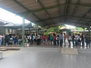 Polícia Civil emitiu carteiras de identidades para jovens de Jaru (RO) (Foto: Polícia Civil/Divulgação)