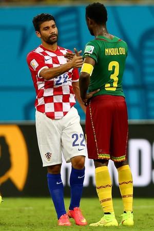 Eduardo da Silva Croácia x Camarões Arena Amazônia (Foto: Getty Images )