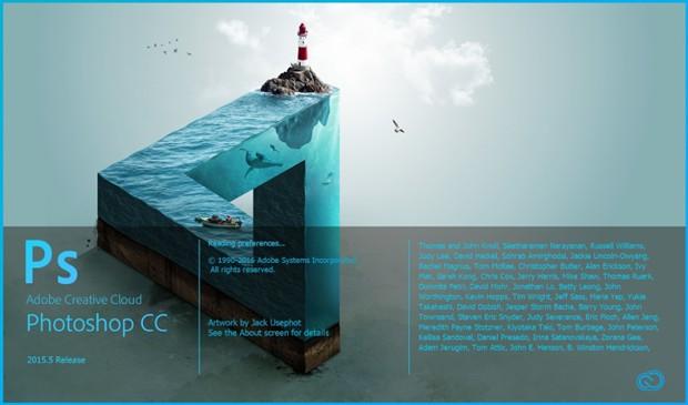 Criação que aparece na capa do novo Photoshop: Impossible Sea (Foto: Divulgação/Photoshop)