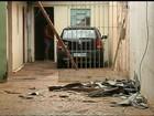 Família fica desabrigada após forte chuva em São Manuel