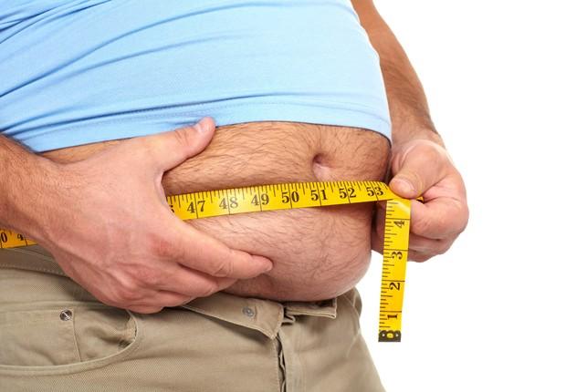 Obesidade ; acima do peso ; gordo ; saúde ; meia-idade ;  (Foto: Shutterstock)
