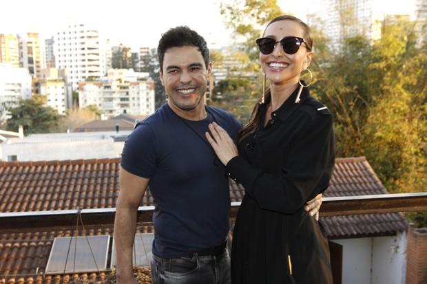 Zezé Di Camargo e Sabrina Sato  (Foto: Celso Tavares / Ego)