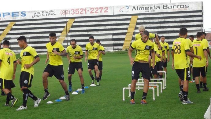 ASA treino (Foto: Leonardo Freire/GloboEsporte.com)