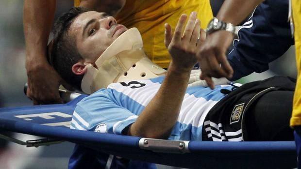 Fernando Gago, seleção argentina (Foto: Reuters)