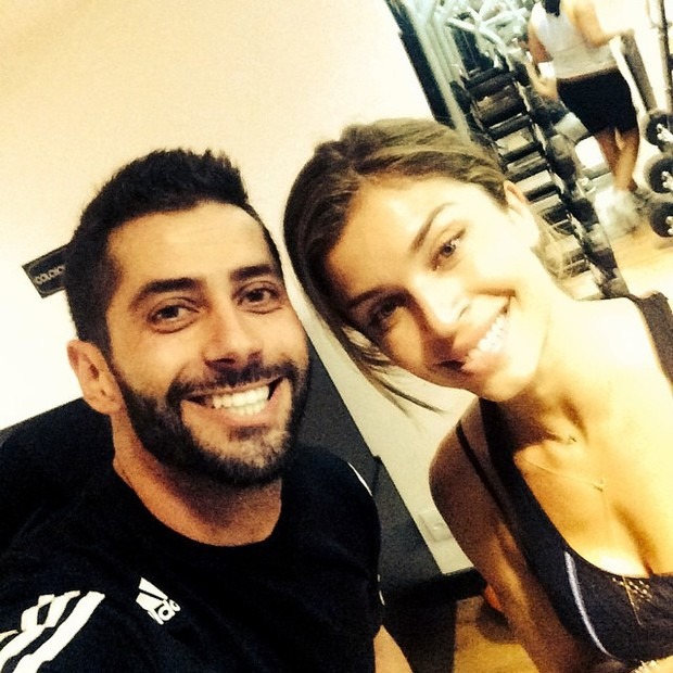 Grazi e Marcelo Zagonel (Foto: Reprodução/Instagram)