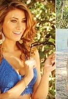 Modelo estreia na TV em cena quente com Cauã Reymond: 'Bem picante'