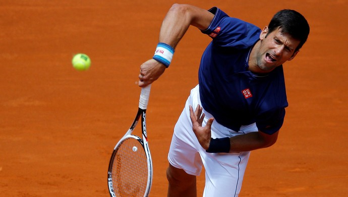 Djokovic, Madrid Open (Foto: REUTERS/Paul Hanna)