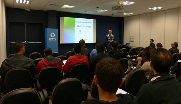 Encontro Engenharia e técnicos (Foto: Divulgação/RPC TV)