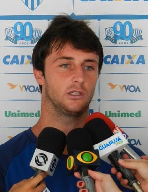 Diego Jardel meia do Avaí (Foto: André Palma Ribeiro/Avaí FC)